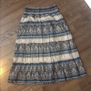Super comfy, Sonoma, L, blue bohemian skirt
